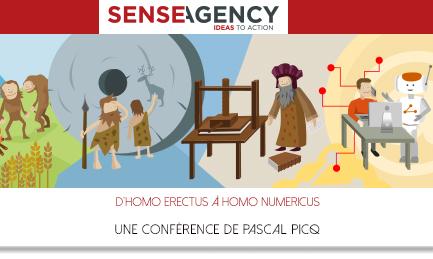 """Une conférence de Pascal Picq : """"D""""Homo erectus à Homo numericus"""""""